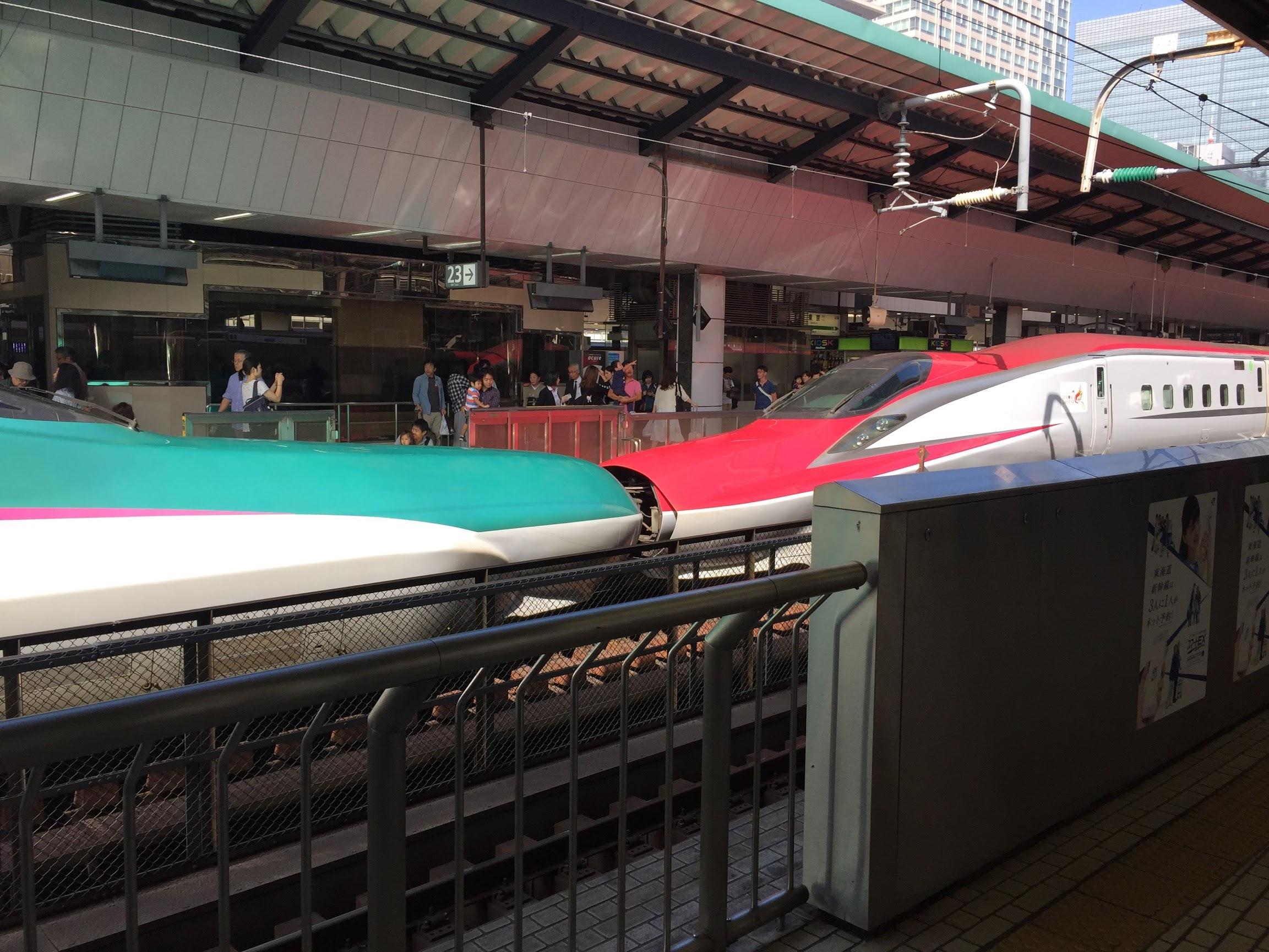 Im Shinkansen nach Nagano | story.one