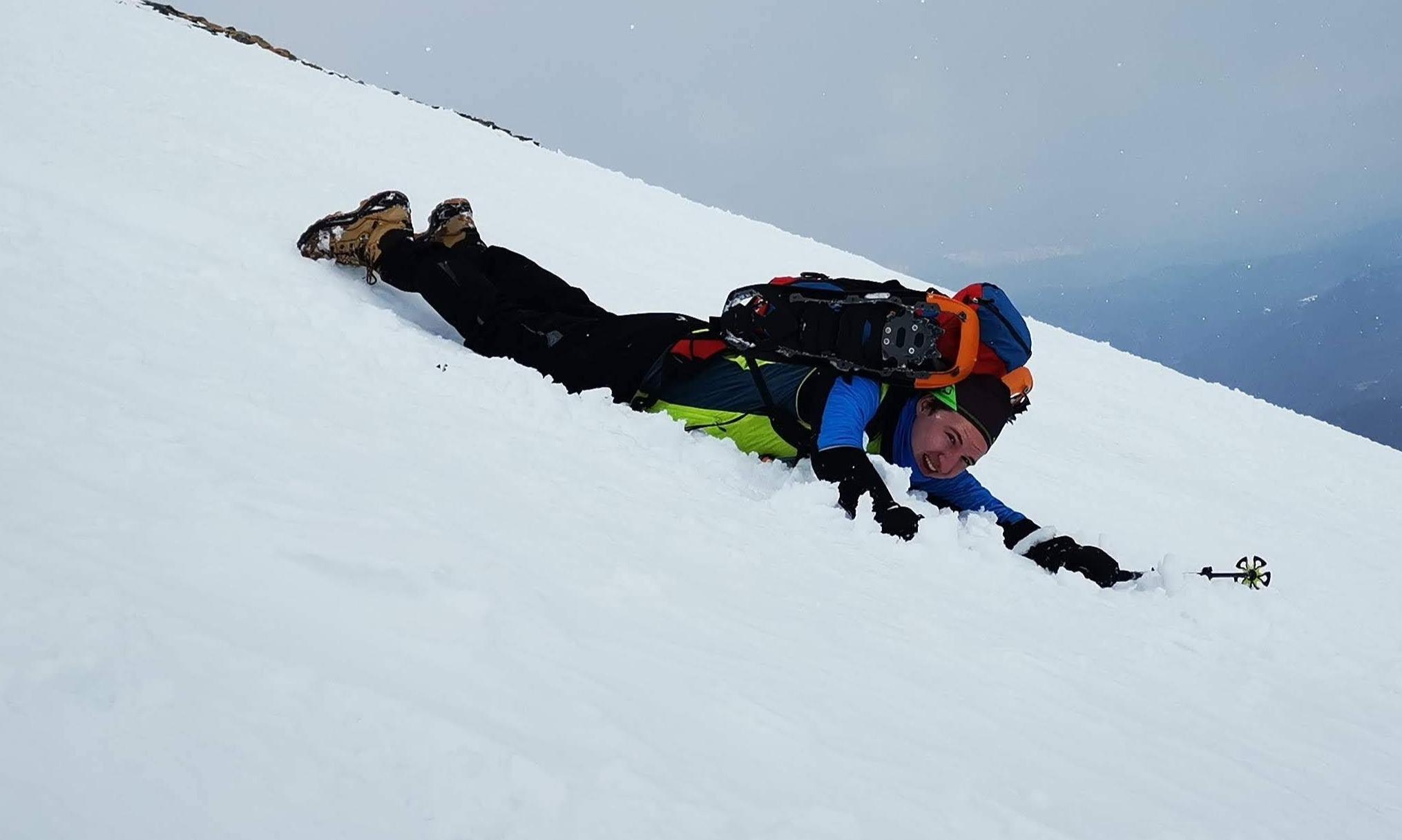 Preber: Mit Schneeschuhen rauf und ohne hinunter | story.one