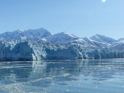 Kreuzen vor dem Hubbard Gletscher   story.one