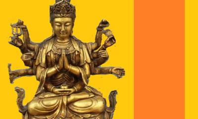 Ein siebenarmiger Buddha | story.one