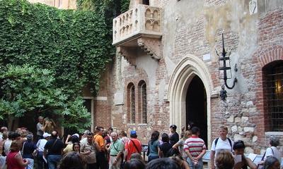Ein Ausflug zur Casa di Giulietta   story.one