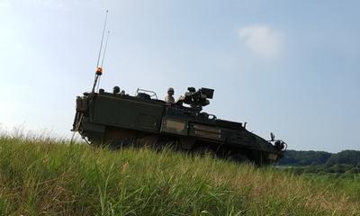 Panzer für Chile am Erdberger Mais | story.one