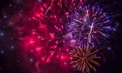 Überraschendes Feuerwerk | story.one