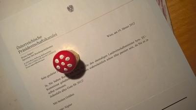 Post aus der Präsidentschaftskanzlei | story.one