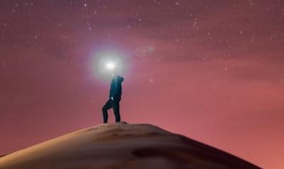 Sternenzelt in der Wüste | story.one