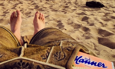Sandmann, wo ist mein Sand? Mann! | story.one