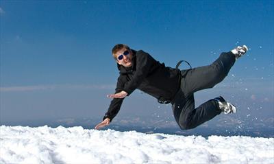 Snowsurfing, ganz spontan | story.one