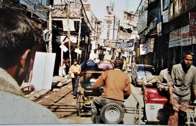Rikschafahrt durch die Basare von Delhi | story.one