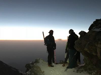Boarischer auf über 4500 m - Iztaccihuatl   story.one