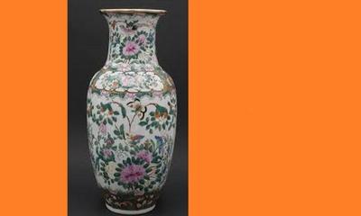 Eine große chinesische Vase | story.one