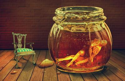 Das Mädchen im Honigglas   story.one