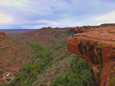 Ruhestörung im australischen Kings Canyon   story.one