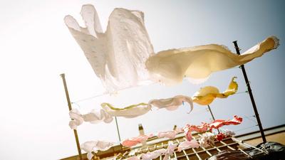 Der fliegende Büstenhalter | story.one