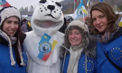 Team Europa - Eisfischen am Baikalsee | story.one