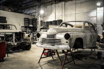 Ein Mann - ein Auto - eine Werkstatt | story.one