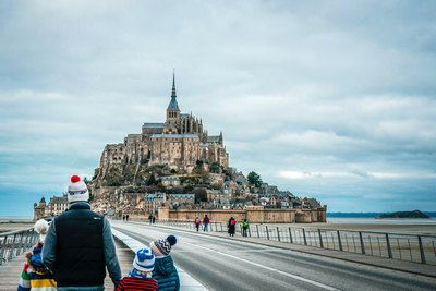 Liebelei in Le Mont-Saint-Michel | story.one